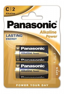 "Elem, C baby, 2 db, PANASONIC ""Alkaline power"""